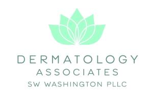 Logo for Dermatology Associates SW Washington, Platinum Level Sponsor
