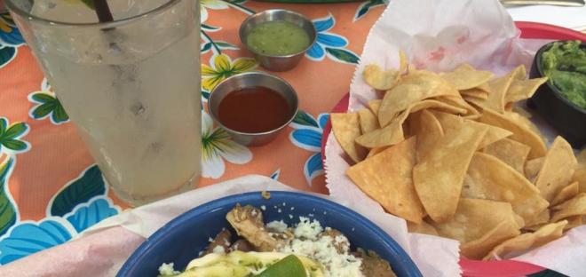 Photo of a meal at Por Que No Taqueria