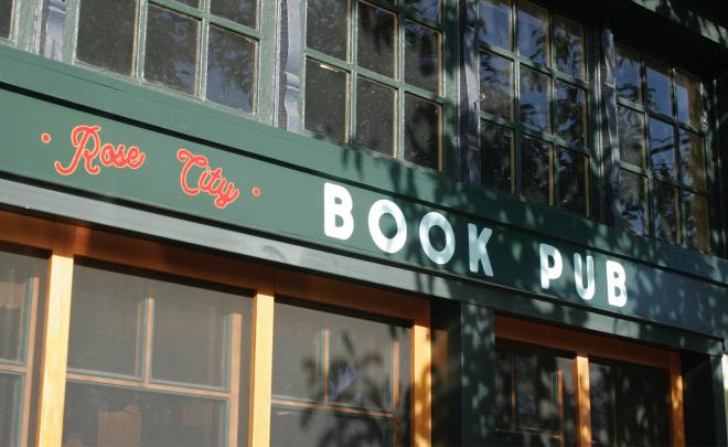 Exterior photo of Rose City Book Pub