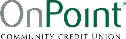 Logo for OnPoint Community Credit Union, Gold Level Sponsor